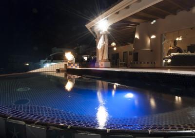 Pool Night Time