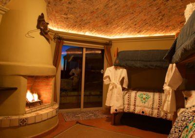Bunkroom Fireplace