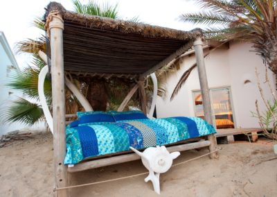 Outdoor Bed next to Cantina